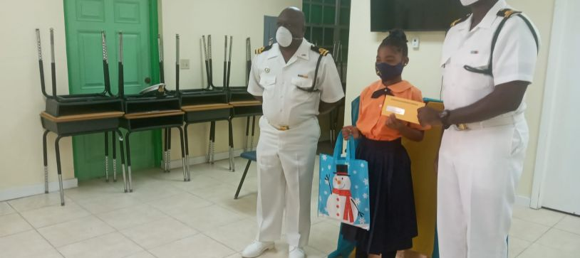 RBDF Partners with Cat Island Students