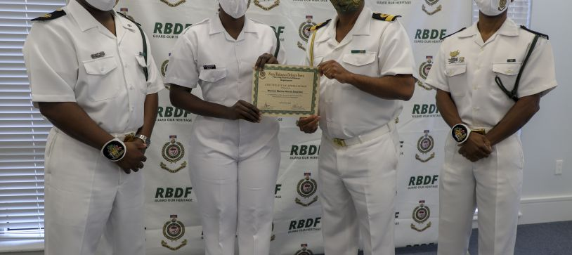 RBDF Search and Rescue Department recognized for outstanding performance