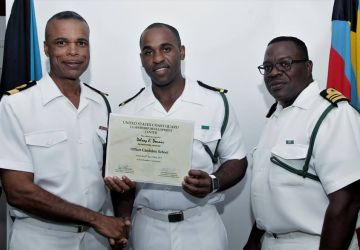 Royal Bahamas Defence Force Officer Completes Overseas Courses