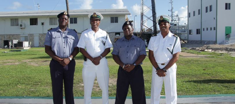 Defence Force bids Farewell to Senior Enlisted Marine