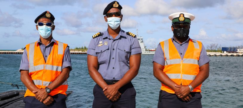 Royal Bahamas Defence Force Conducts Training for Seagoing Personnel