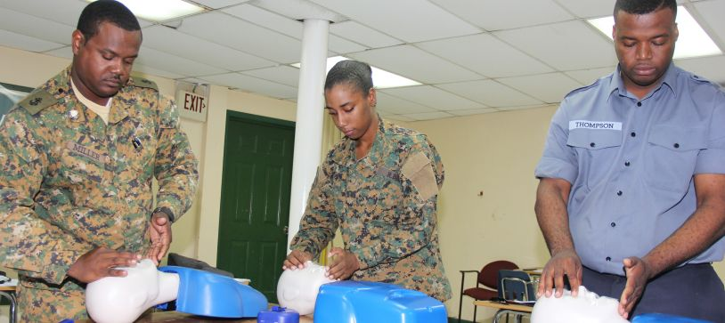 RBDF Medical Staff conducts First Aid and CPR Training
