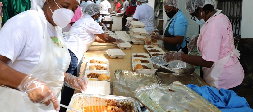 RBDF Female Entry gives back in Community Service