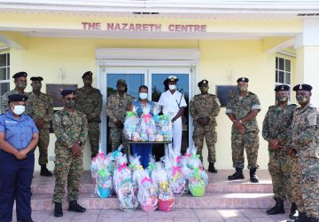 Military Police and Force Protection Unit Easter Initiative