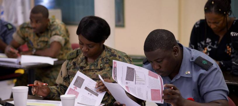 DEFENCE FORCE RANGERS PROGRAM INCLUDES JUNIOR ACHIEVEMENT BAHAMAS