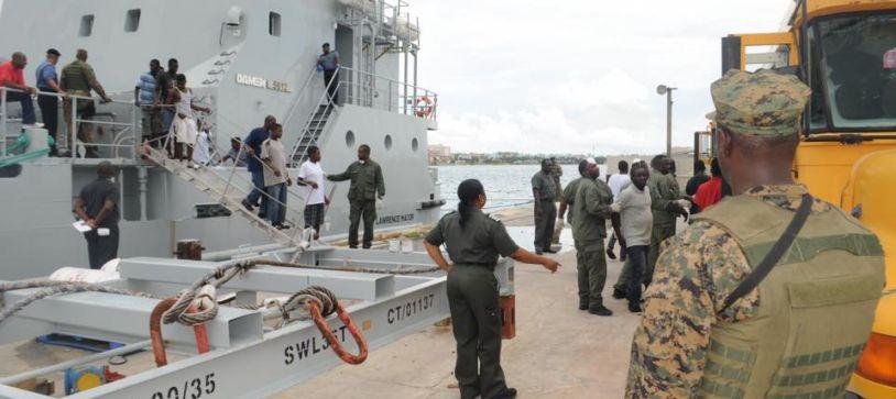 Migrants apprehended in Inagua