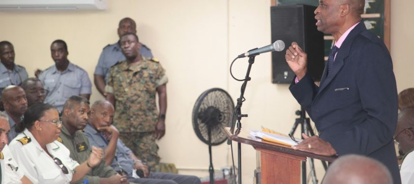 Defence Force holds Legal Aid Clinic