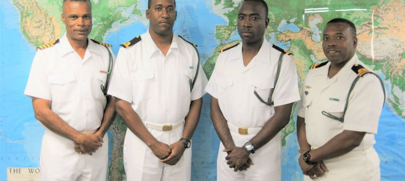 Royal Bahamas Defence Force Officers Return From Training
