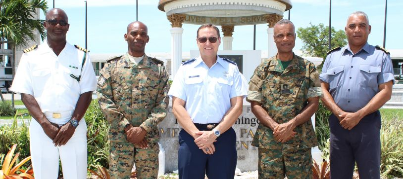 US Major General visits Commander Defence Force