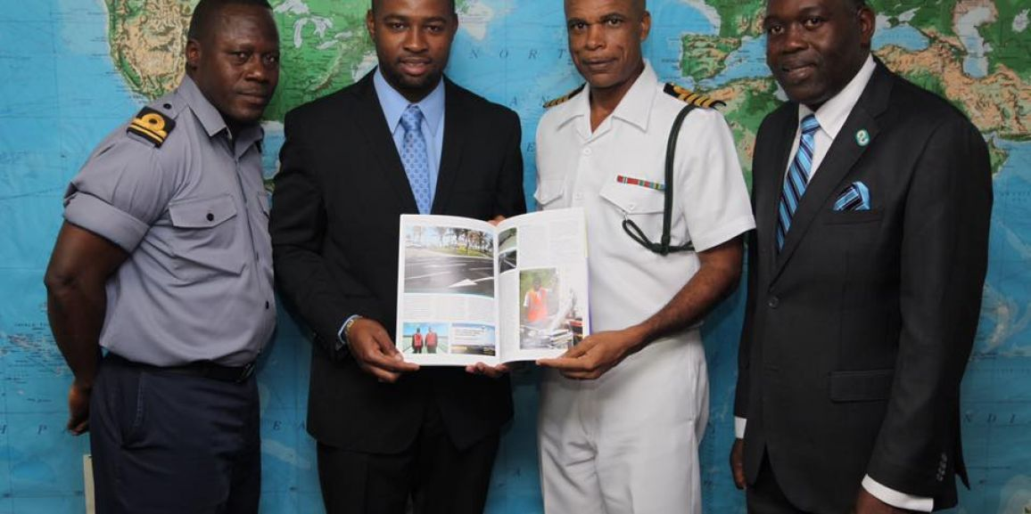 Bahamas Striping Group of Companies visits Coral Harbour Base