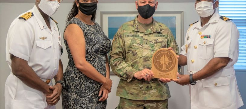 US General Courtesy Call