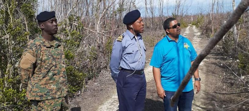Deputy Prime Minister Tours East Grand Bahama