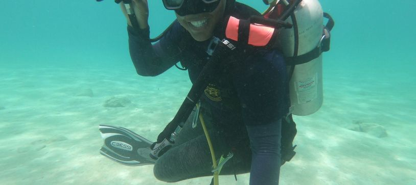 Military Divers – Able Woman Marine Jamie Cleare
