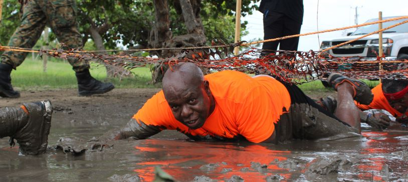 Defence Force participates in Bahama Health Mud Run 2018