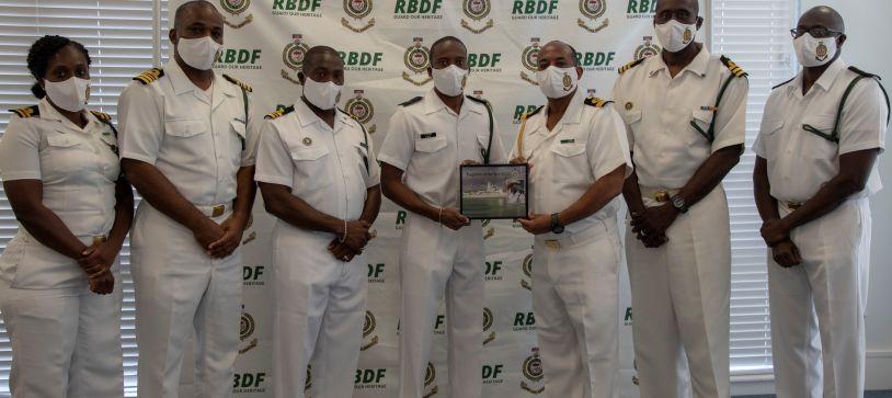 RBDF Patrol Craft honors Outstanding Marines