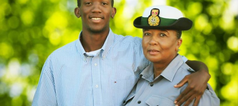 DEFENCE FORCE SALUTES ITS MOST SENIOR-SENIOR ENLISTED MOTHER, FORCE CHIEF PETTY OFFICER IDAMAE FERGUSON