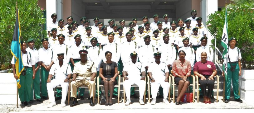 RBDF Rangers (Abaco) Passing out Parade