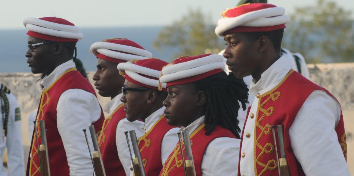 Rangers Particiapte in Historical Reenactment