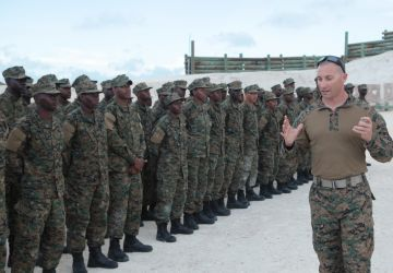 RBDF says Farewell to US Personnel