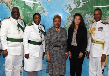 Red Cross Leaders pay Courtesy Call on CDF