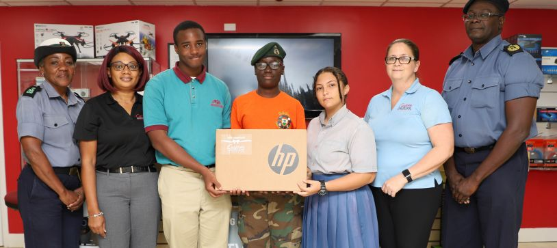 RBDF Rangers Receive Computer Equipment