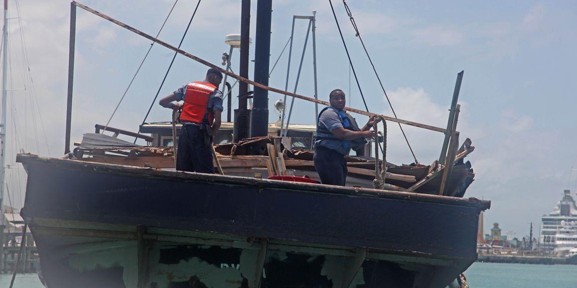 RBDF Marines secure Breakaway Freighter