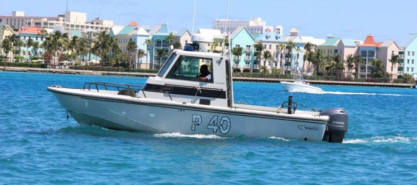 RBDF Harbour Patrol Unit rescued two males from sinking vessel