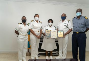 RBDF Ship Crew recognized for Services