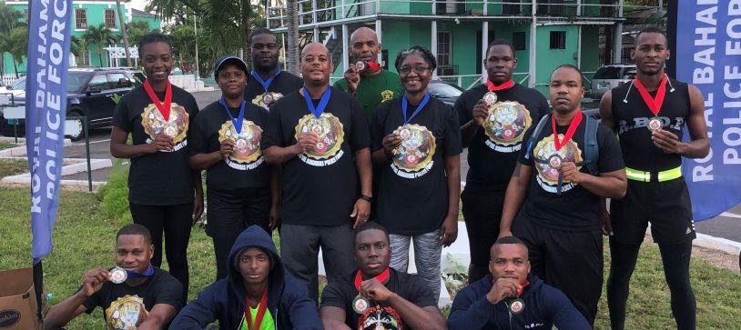 RBDF Participates in Royal Bahamas Police Force Fun Run Walk