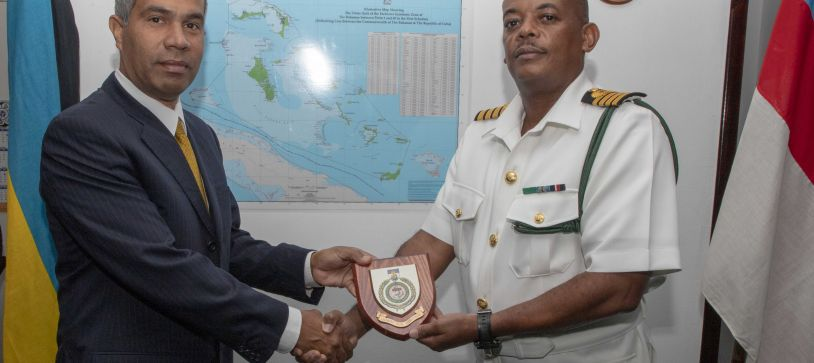 Cuban Ambassador Makes Courtesy Call on Acting Commander Defence Force