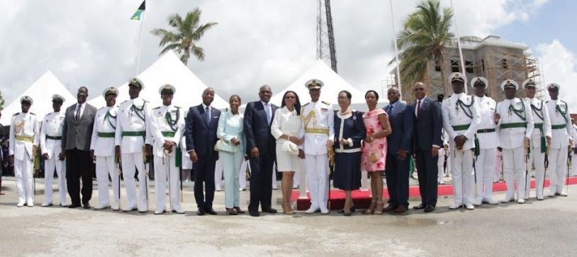 It was overall a grand day at HMBS Coral Harbour #changeofcommand. Parade Commander for the event was Commander Frederick Brown, assisted by Lieutenant Commander Ricardo Barry.