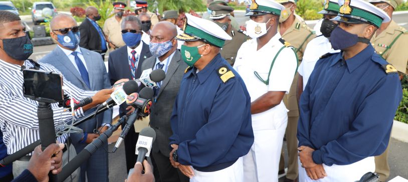 Minister of National Security gives updates on the Bahamas Unmanned Aerial System