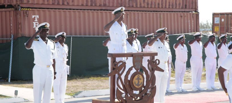 Royal Bahamas Defence Force Honors Fallen Comrades