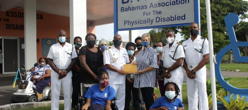 RBDF Art Auction gifts Bahamas Association for the Physically Disabled