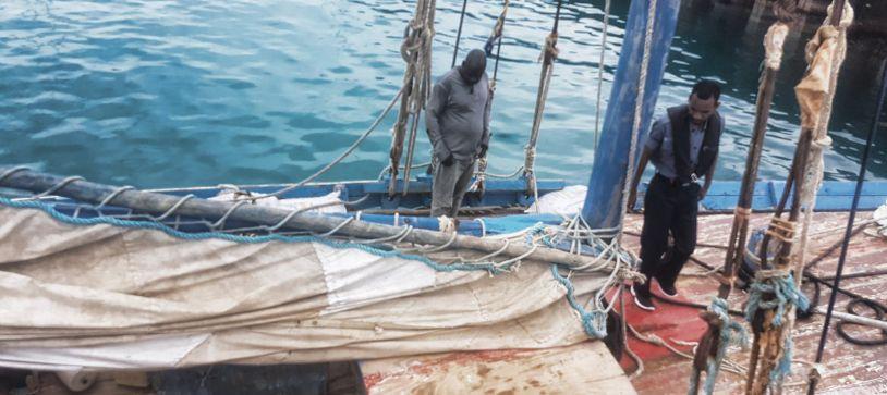 Haitian Migrants Taken in Custody