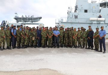 Trinidad and Tobago Troops Complete Hurricane Relief Efforts In Grand Bahama