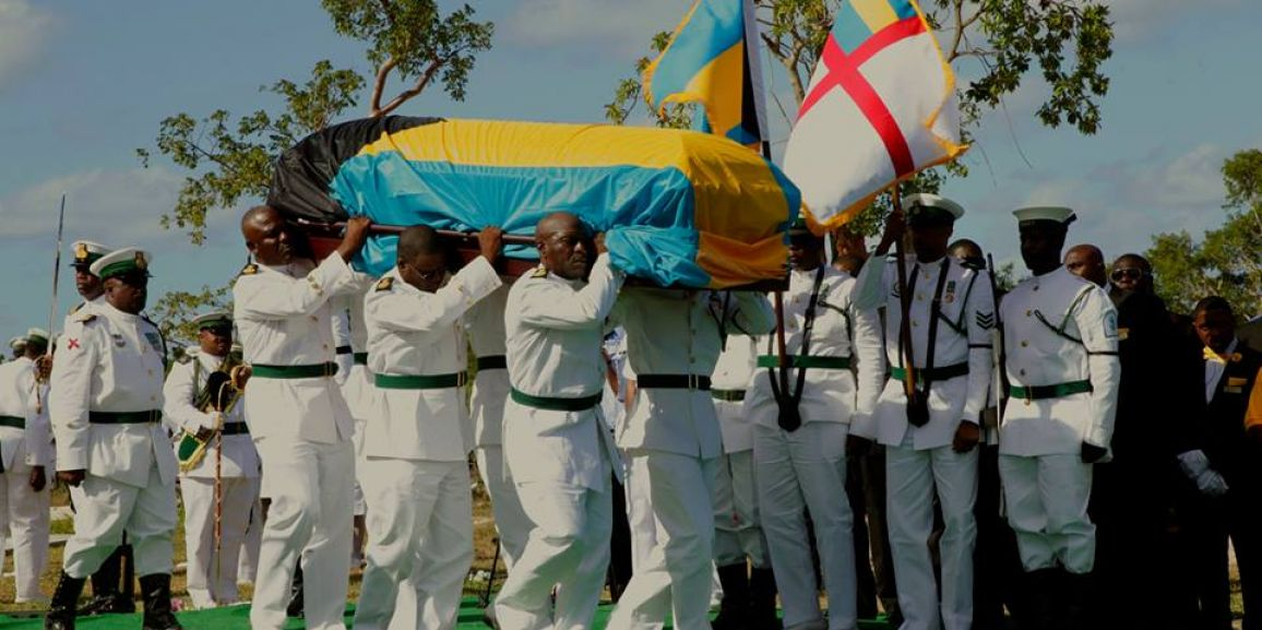 A Sad Farewell to Chief Petty Officer (Retired) Roosevelt Antonio Thompson Snr.