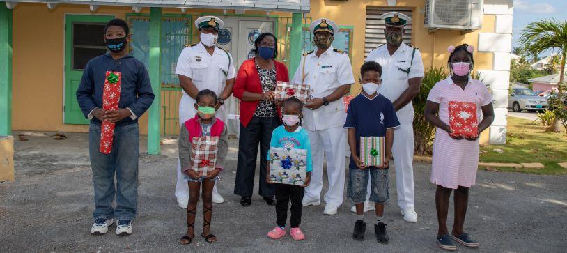 RBDF brings Christmas Cheer to Students