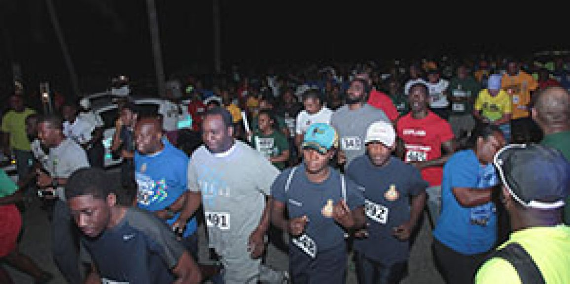 Royal Bahamas Defence Force Fun Run Walk 2018