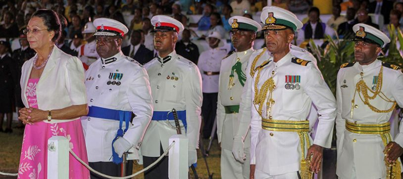 Defence Force Joins in 45th Independence Celebrations