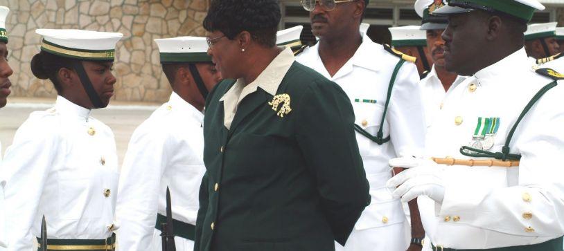 Petty Officer Christina Rahming