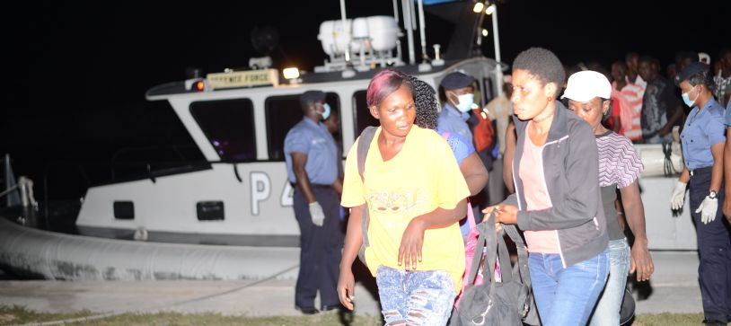 Royal Bahamas Defence Force Assists in Migrant Apprehension