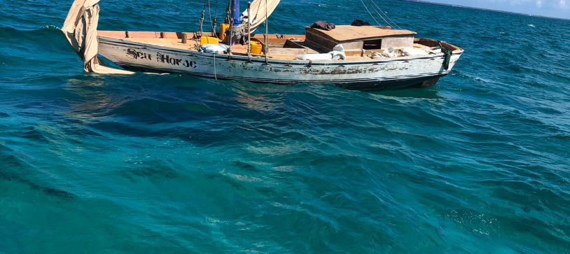 RBDF Searching for possible Haitian Sloops and Migrants