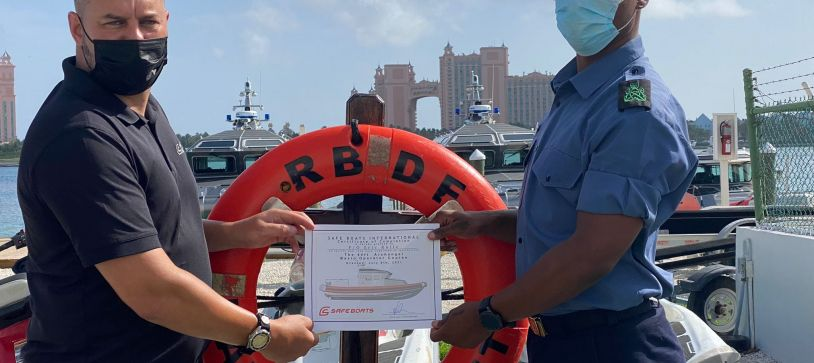 RBDF Personnel receive Training for New Vessels
