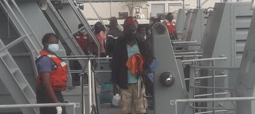 RBDF apprehends suspected vessel and crew