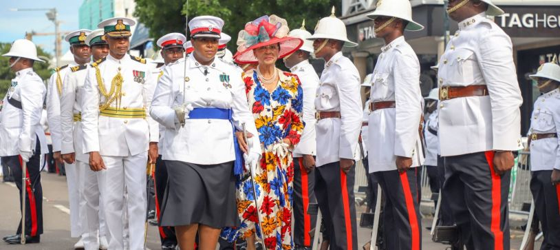 Her Excellency final  inspection as Governor General
