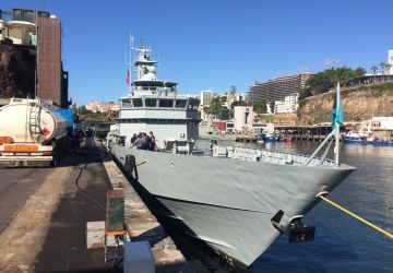 HMBS BAHAMAS Makes Port of Call in Funchal Madeira, Portugal