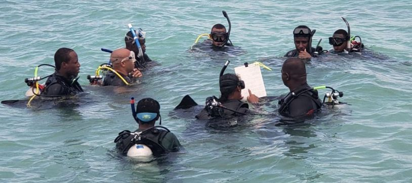 RBDF Makes History with Divemaster Training