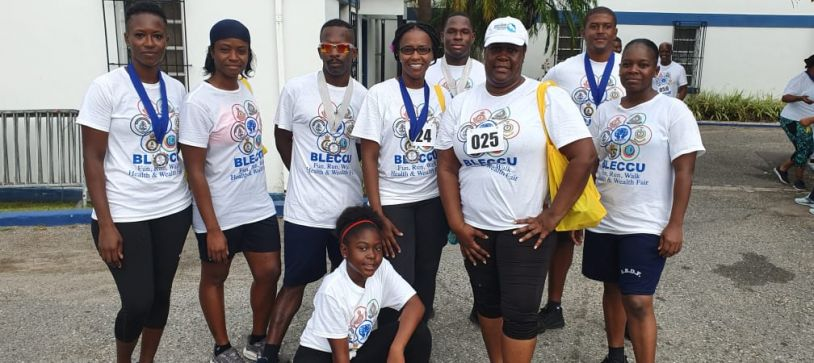 RBDF Participates in Fun Run Walk