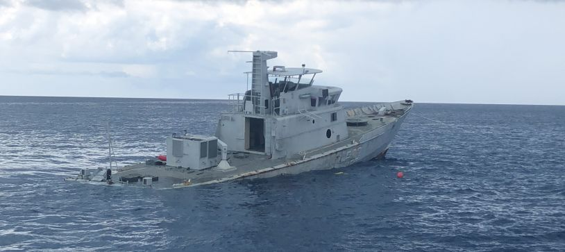 Defence Force Craft to be used as a Reef Site